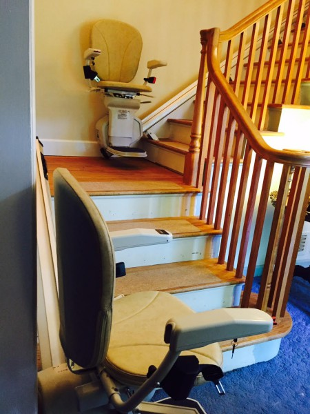 Horizon Stair Lift for the Simpsons
