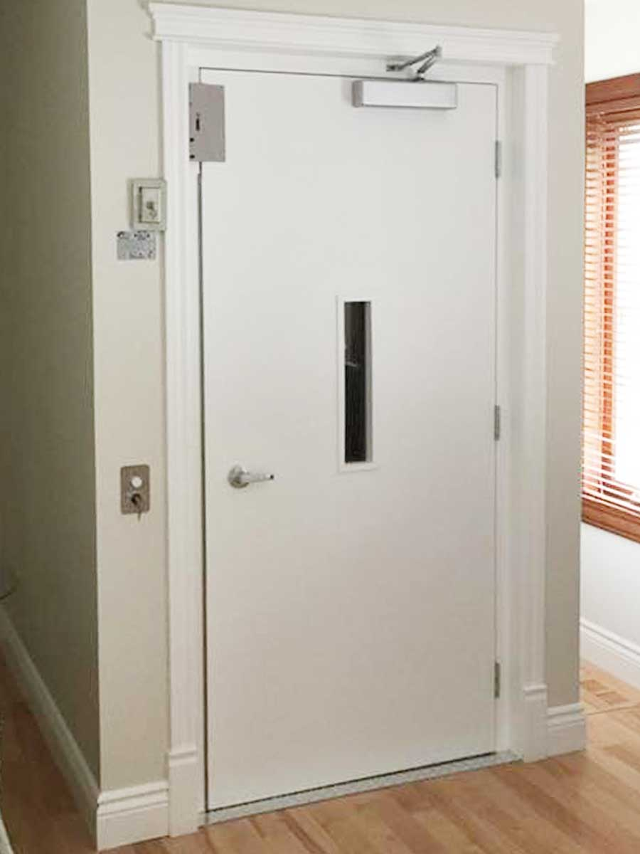 Hercules Interior Door w/Frame & Interlock